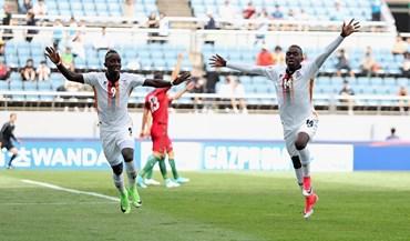 Zâmbia-Portugal, 2-1