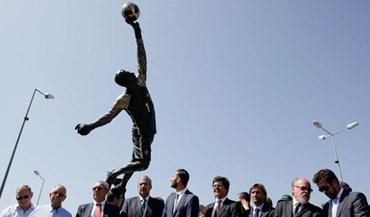 Rui Patrício: «É um grande orgulho ter uma estátua na minha cidade»