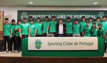 Sporting apresenta equipa para a nova temporada