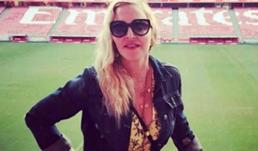 Benfica assinala visita de Madonna: «Descobriu o melhor palco do Mundo»