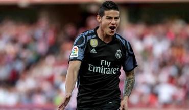 Inter oferece 42 milhões de euros por James Rodríguez
