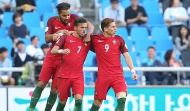 Mundial Sub-20: Portugal-Irão, 2-1