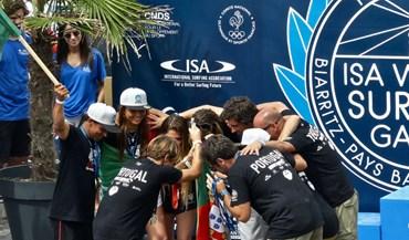 Portugal é vice-campeão do mundo de surf