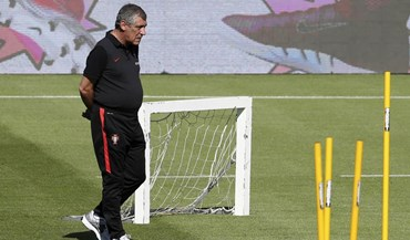 Fernando Santos continua com o grupo muito reduzido