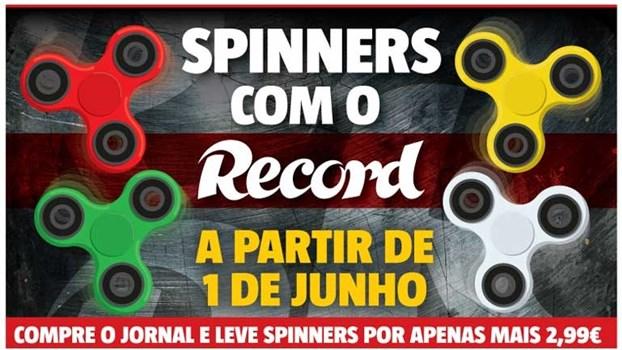 Spinners com o Record já nas bancas