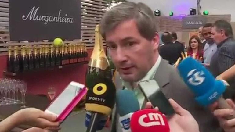 Bruno de Carvalho no Estoril Open para apoiar Gastão Elias