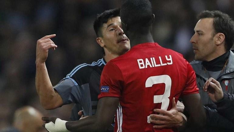 Parte final do United-Celta marcada por agressões
