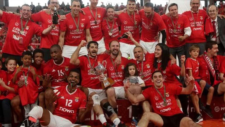 Benfica sagra-se campeão nacional de voleibol