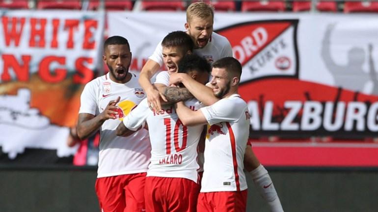 Áustria: RB Salzburg sagra-se campeão pela quarta vez consecutiva