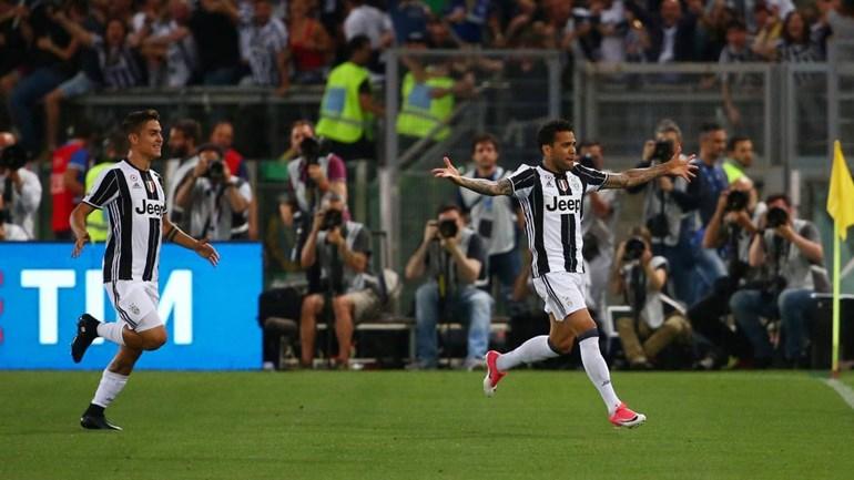 Juventus bate Lazio e conquista Taça