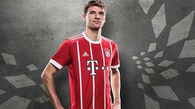 Glória da década de 1970 inspira nova camisola do Bayern