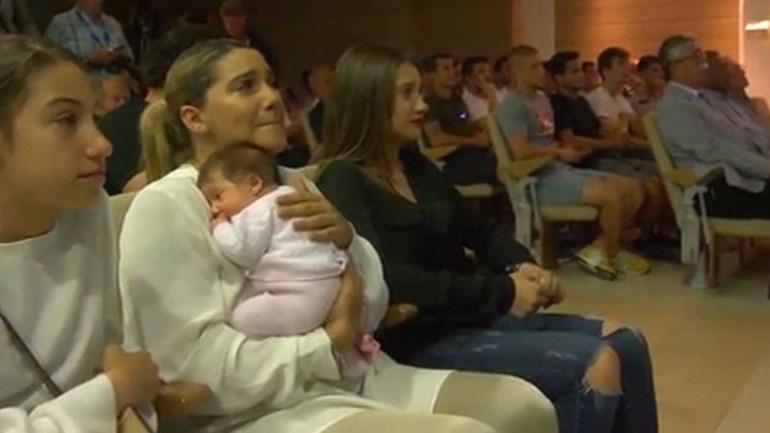 Málaga homenageia Duda com muitas lágrimas na despedida