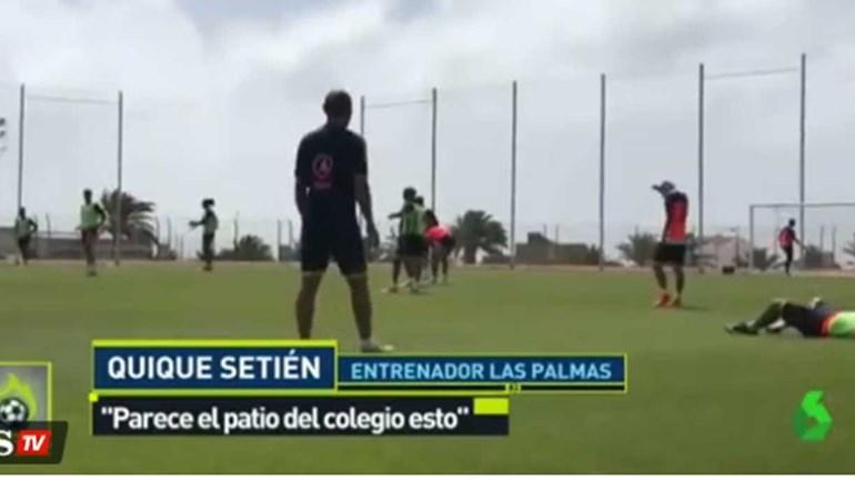 Treinador do Las Palmas 'pegou-se' com Boateng
