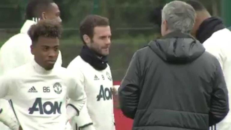 Mourinho dá moral ao filho de Gil