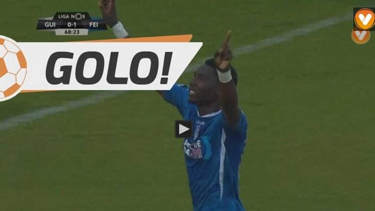 Foi assim que o Feirense gelou Guimarães