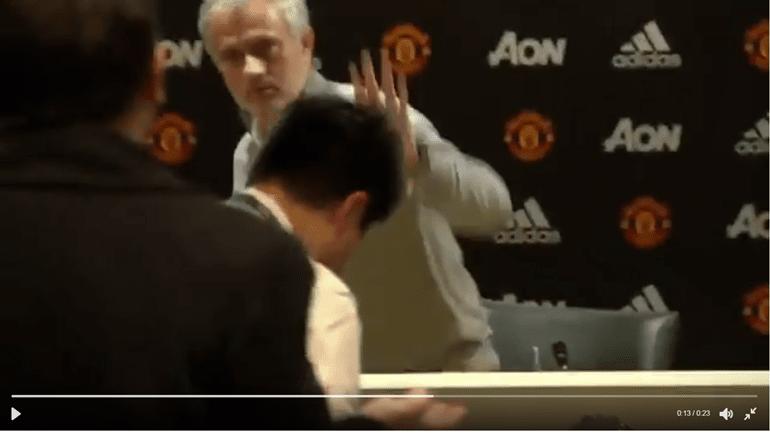 Mourinho bate 'recorde'... da conferência de imprensa mais rápida da história