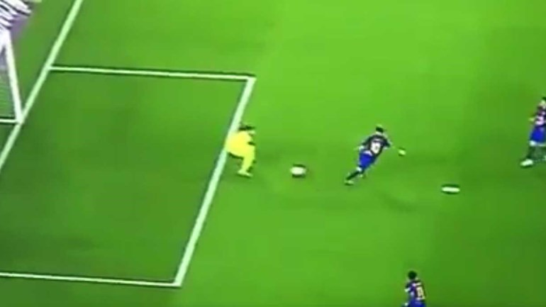 Este era o golo do ano se Messi não estivesse fora-de-jogo