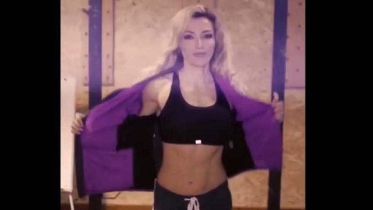 Raquel Henriques já nos habituou aos seus treinos mas... nunca a isto!