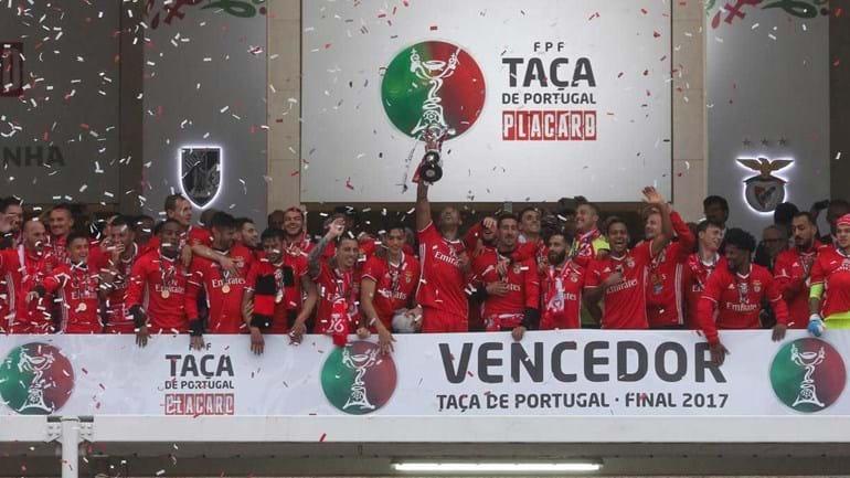Benfica conquista Taça de Portugal