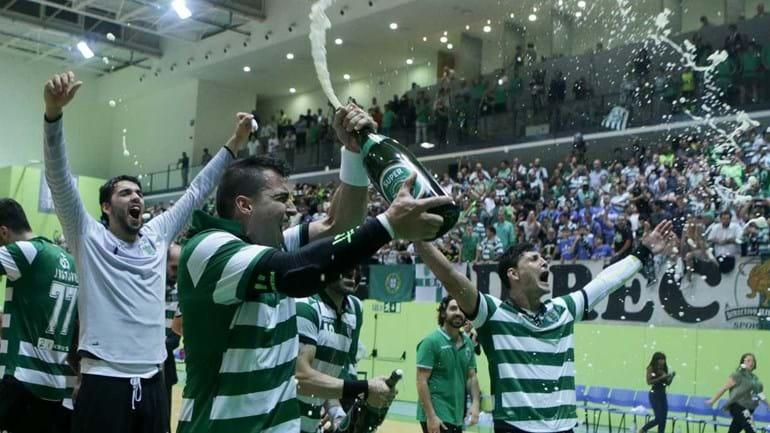 Sporting é campeão nacional de andebol
