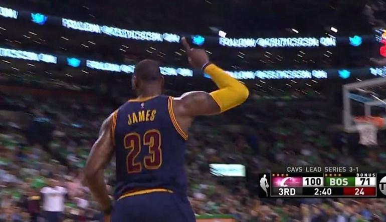 O momento em que LeBron James ultrapassou... Michael Jordan