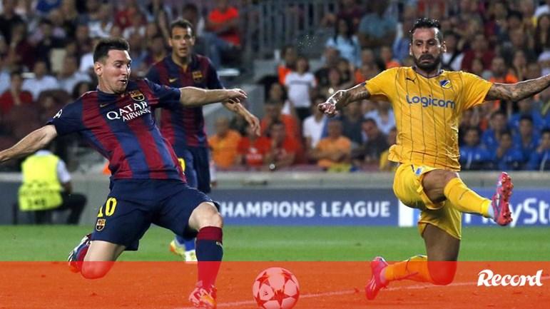 6235e79e67 Mário Sérgio  «É uma honra estar na coleção de Messi» - Espanha - Jornal  Record