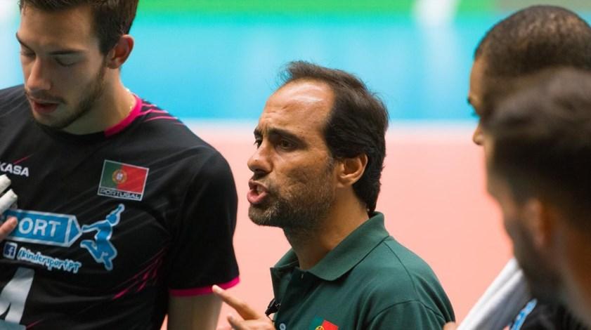 Hugo Silva acredita que trabalho da seleção de voleibol vai render resultados