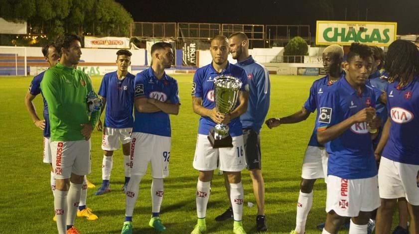 Goleada (0-5) sobre o Torreense