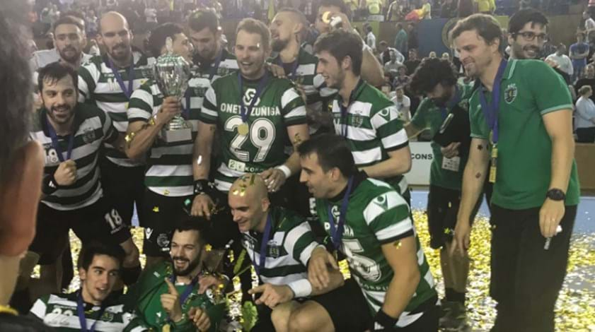Sporting conquista Taça Challenge