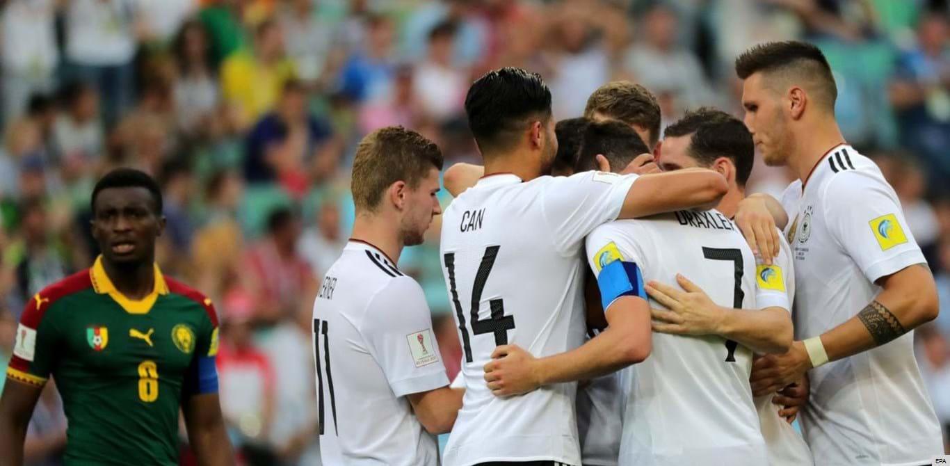 Alemanha passa às 'meias' como líder do Grupo B