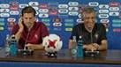 Adrien, o percurso da seleção, o Sporting e... problemas de tradução