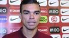 Pepe revela como o grupo reagiu quando Ronaldo contou que tinha sido pai novamente