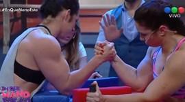 Momento arrepiante na TV argentina: Desloca cotovelo a fazer o braço de ferro