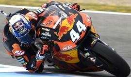 Moto2: Miguel Oliveira com o 8.º tempo nos treinos livres do GP Itália
