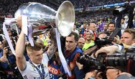 Toni Kroos: «É preciso um tipo como Ronaldo»