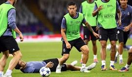 James foi tema de conversa entre Milan e Jorge Mendes em Cardiff