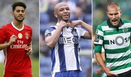 Em que lugar ficariam Pizzi, Brahimi, Bas Dost e companhia na Premier League?