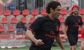 Rui Costa no jogo das estrelas em Barcelona