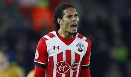 Liverpool pede desculpa ao Southampton por van Dijk