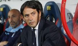 Simone Inzaghi renova com a Lazio até 2020