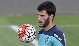 André Moreira a chegar ao Benfica