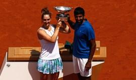 Bopanna e Dabrowski sagram-se campeões de pares mistos em Roland Garros