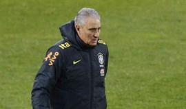 Tite: «Temos de saber jogar com Neymar, Dani Alves e Marcelo, e também sem eles»