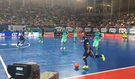 Barcelona vence equipa de Ricardinho no primeiro jogo da final
