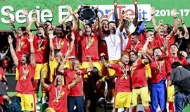 Benevento é o novo membro da Serie A italiana
