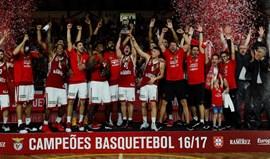 Benfica 'varre' FC Porto e sagra-se campeão nacional de basquetebol