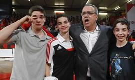 A emoção de Carlos Lisboa pelo título de basquetebol do Benfica