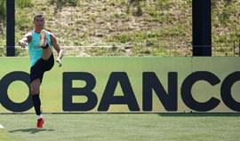 Cristiano Ronaldo e André Silva regressam aos treinos na Cidade do Futebol