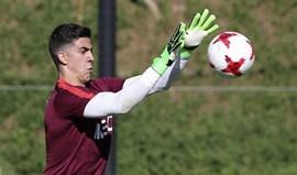 Joel Pereira satisfeito com elogios de José Mourinho