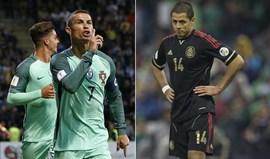 Se Chicharito ressonar... Ronaldo vai ouvir